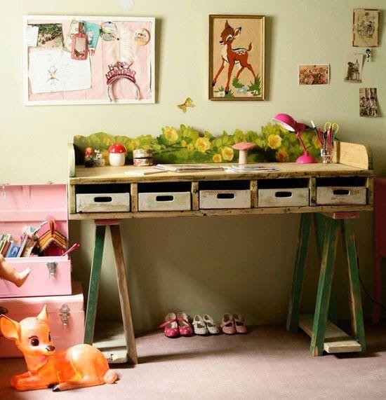 escritorio pallets