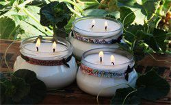 3 pack of 12oz 100 Soy Candles by WildOrchidCandleCo on Etsy, $40.00