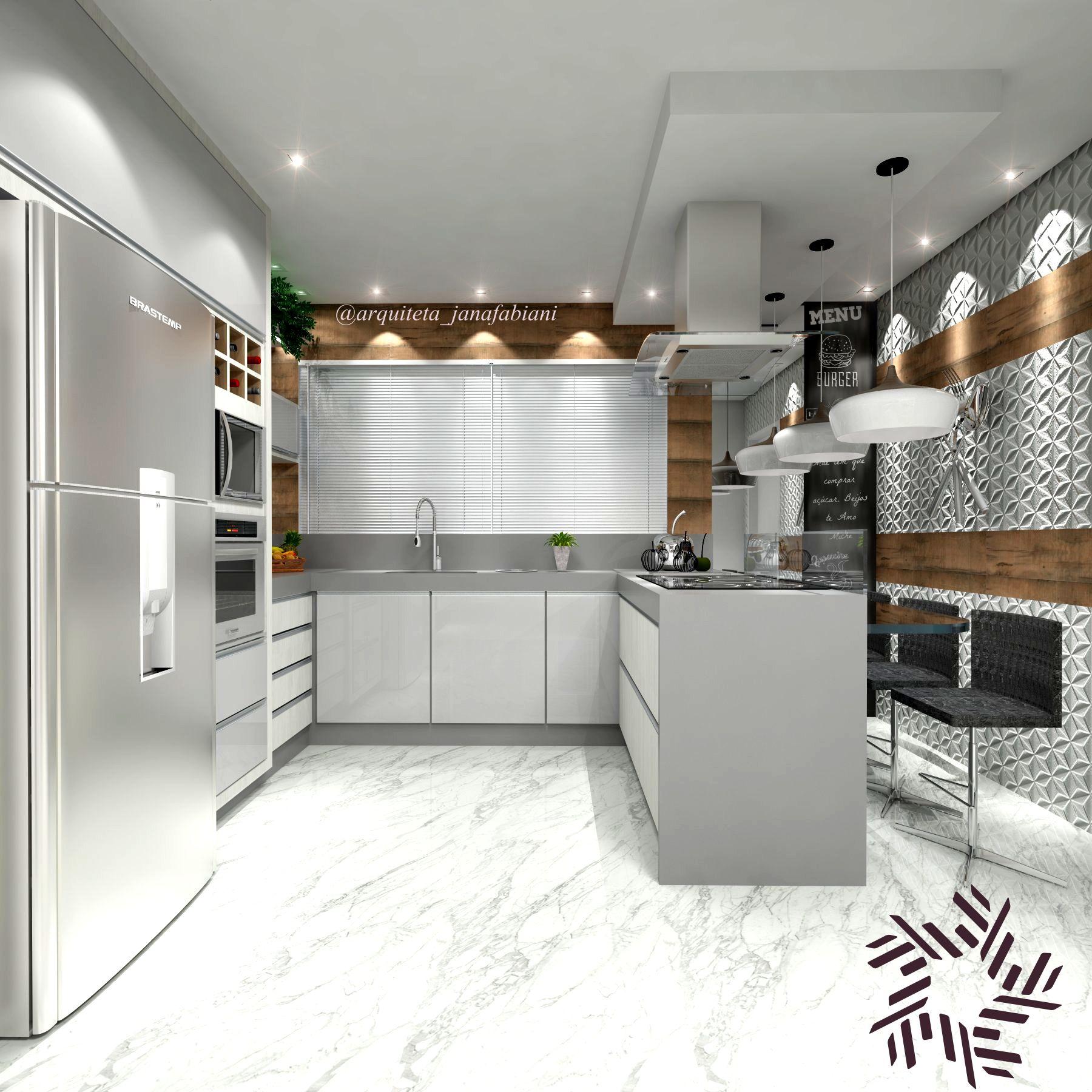 Projeto De Cozinha Com Ilha Medidas Oppenau Info