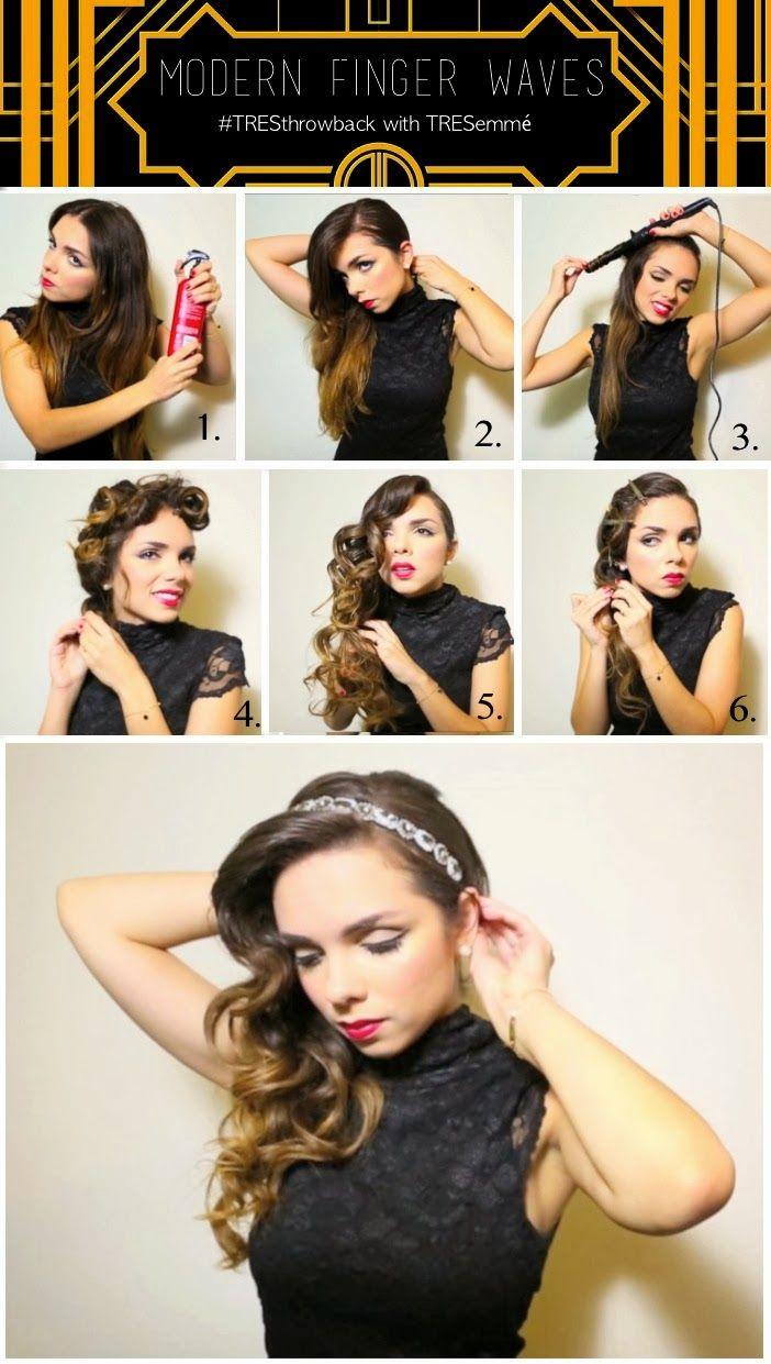 Frisuren  Lange haare wellen, Haar styling, 10er jahre frisur
