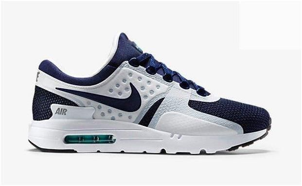 save off a8bb6 e329d Latest Nike Air Max 87 Zero Special Version Retro Mens Running Shoes 2015  Deep Blue White