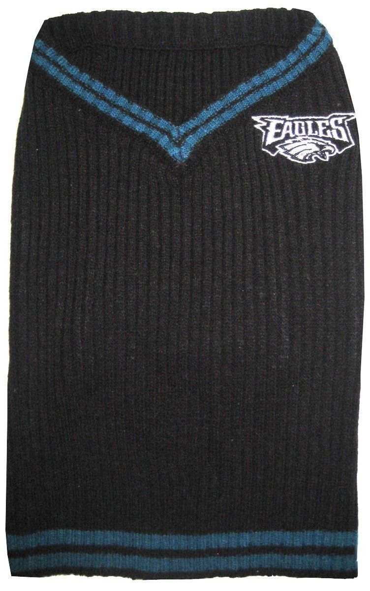 super popular d093e 52fb7 NFL Philadelphia Eagles Pet Sweater, Small ** You can find ...