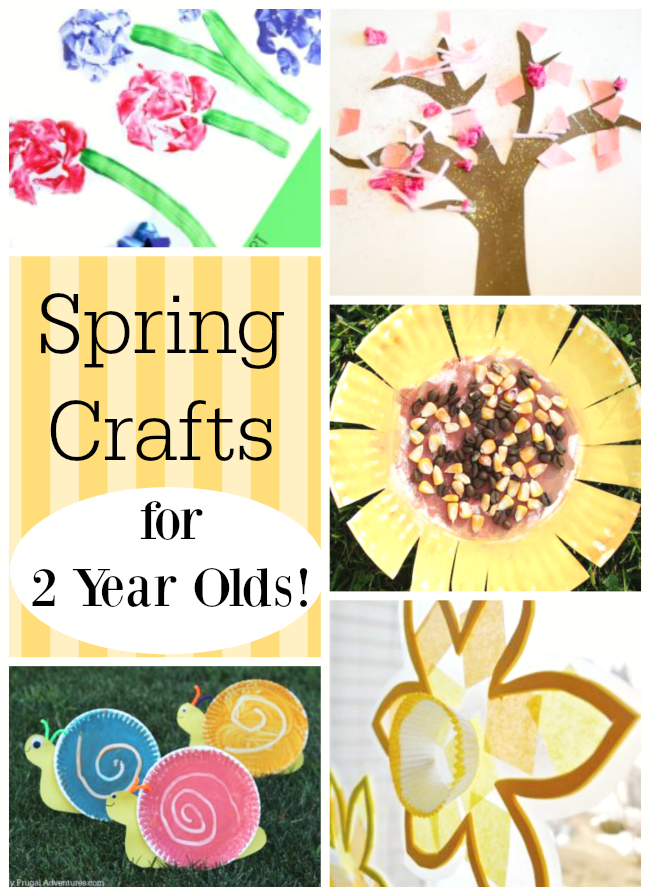 Spring Crafts For 2 Year Olds Spring Crafts And Learning For Kids