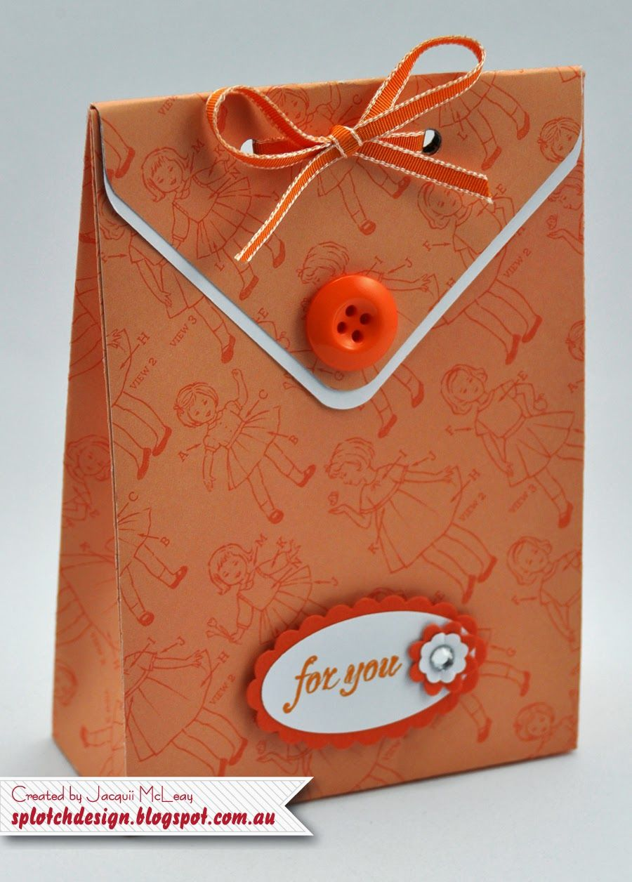 Splotch Design - Jacquii McLeay Independent Stampin' Up! Demonstrator: Envelope Punch Board Ideas