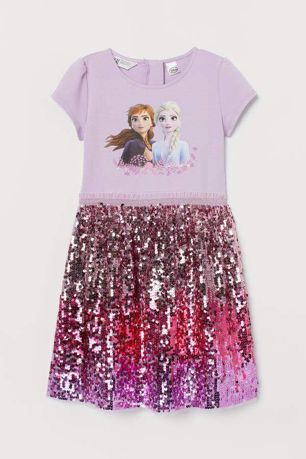 H/&M Unicorns Dress Girls age 2-4 years