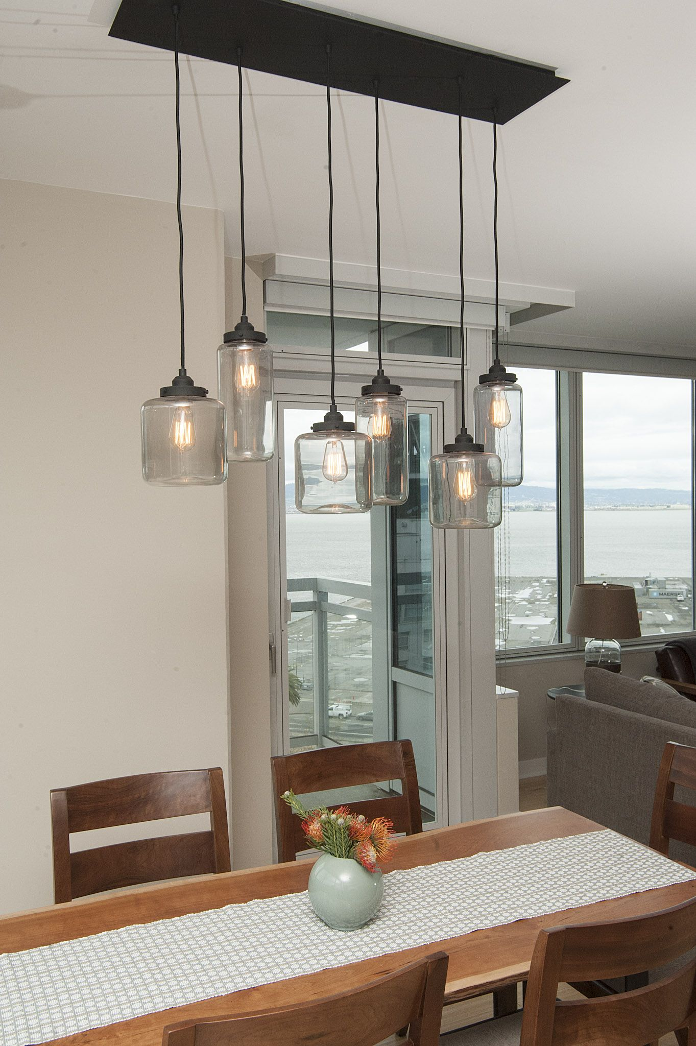 Mason Jar Light Fixture Jill Cordner Interior Design
