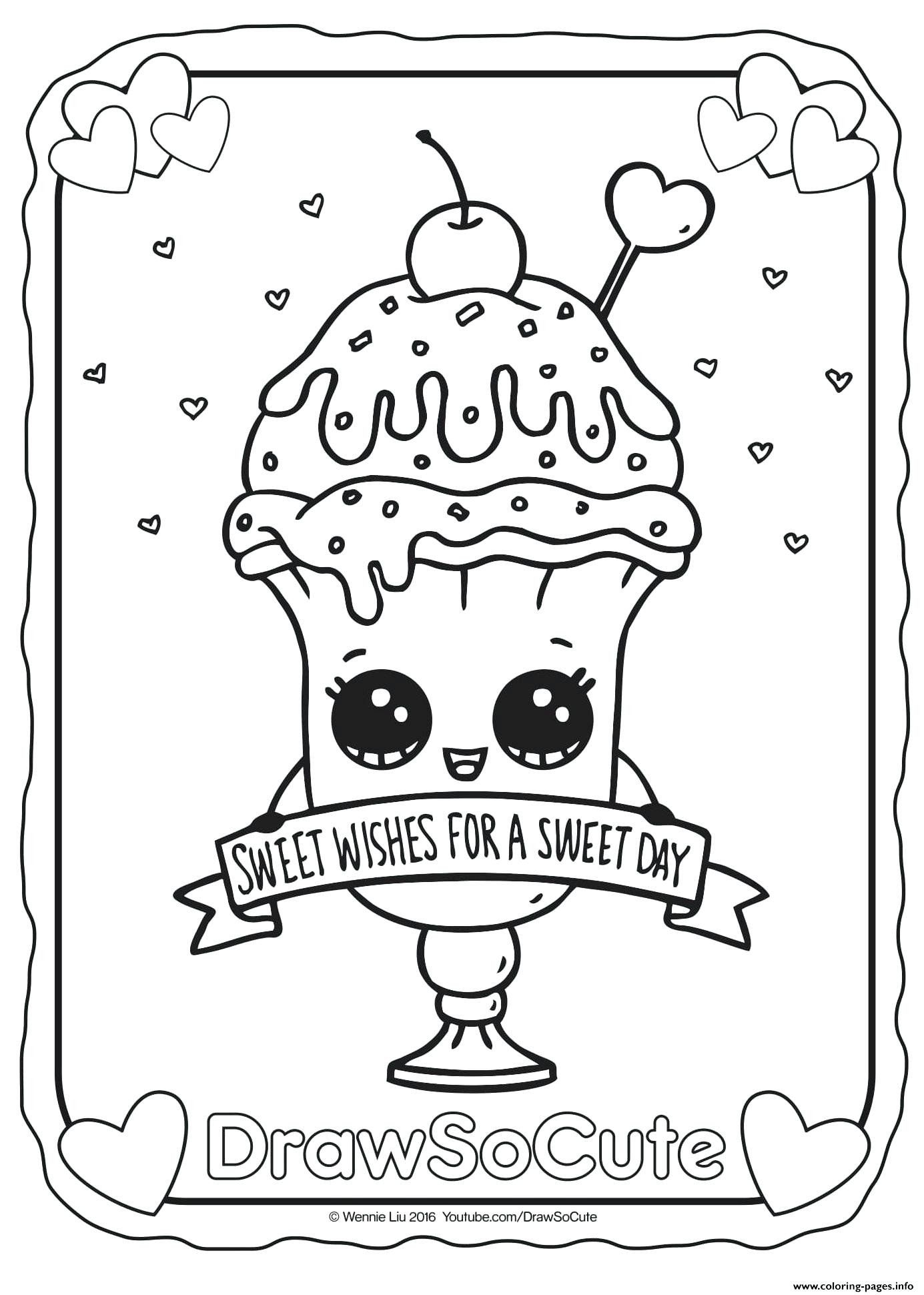 Halloween Food Coloring Pages Portraits