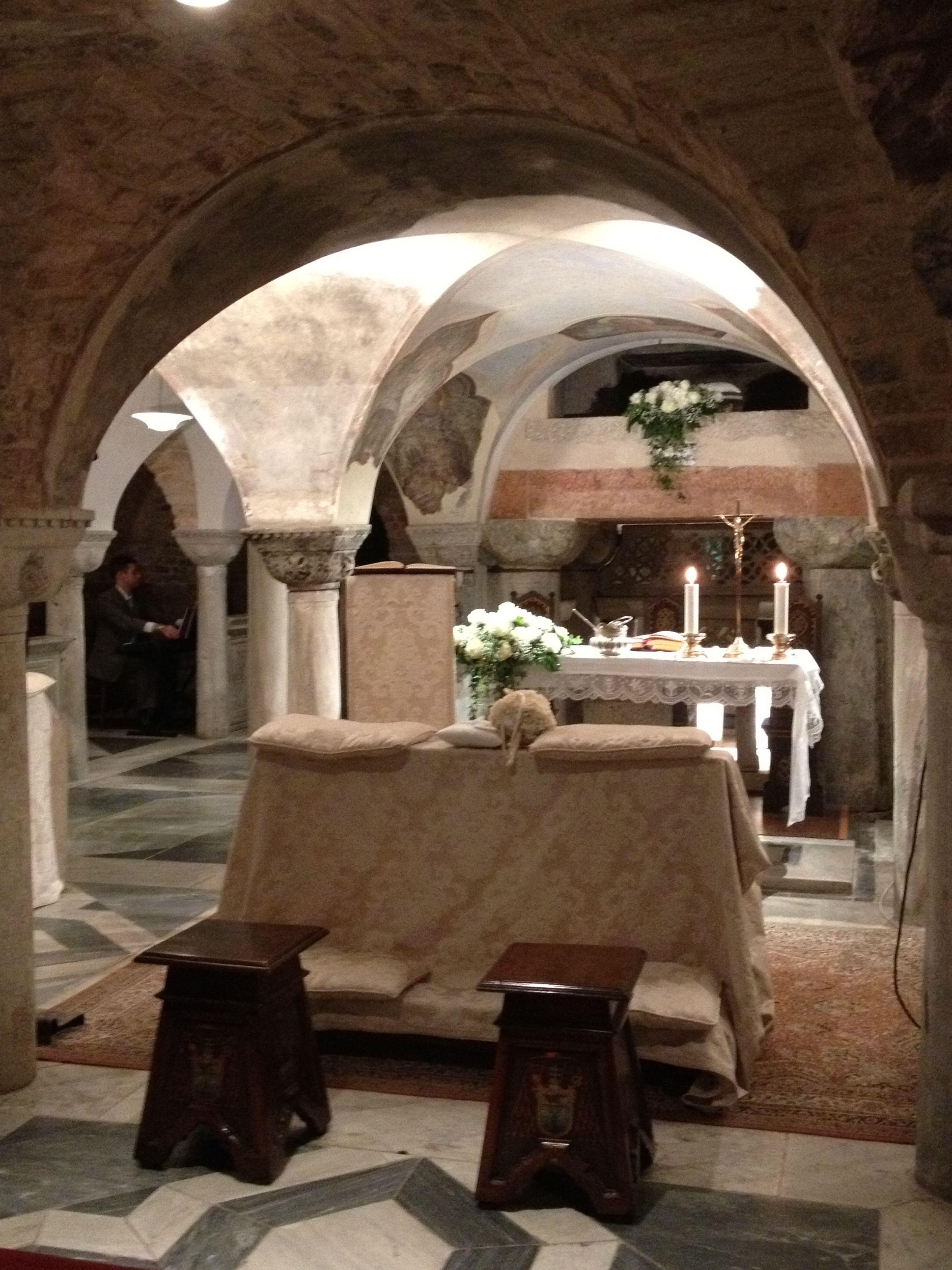 Cripta Basilica San Marco Venezia Criptas Lugares Para