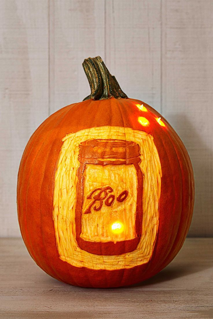 These pumpkincarving ideas are so easy and cool itus scary