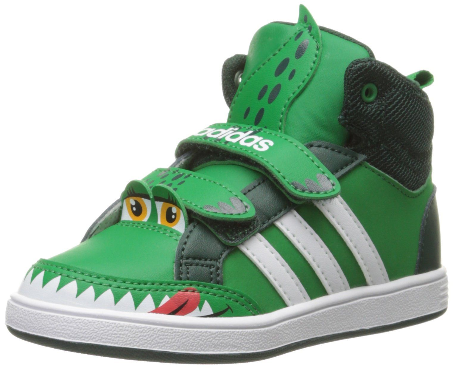 c29905f08d70c Amazon.com  adidas NEO Hoops Animal Mid-Height INF Basketball Shoe (Infant  Toddler)  Shoes