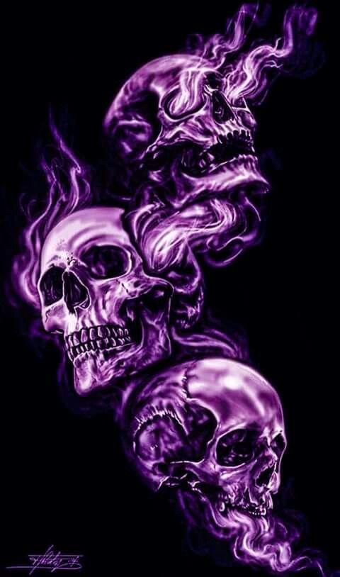 See No Evil Hear No Evil Speak No Evil Skull Wallpaper Skull Artwork Skulls Drawing