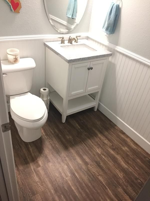 Waterproof Luxury Vinyl Plank Rustic Distressed Look