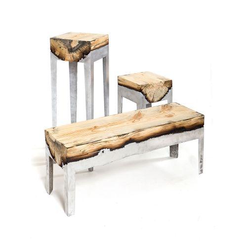 Discover - Cypress Aluminium Bench