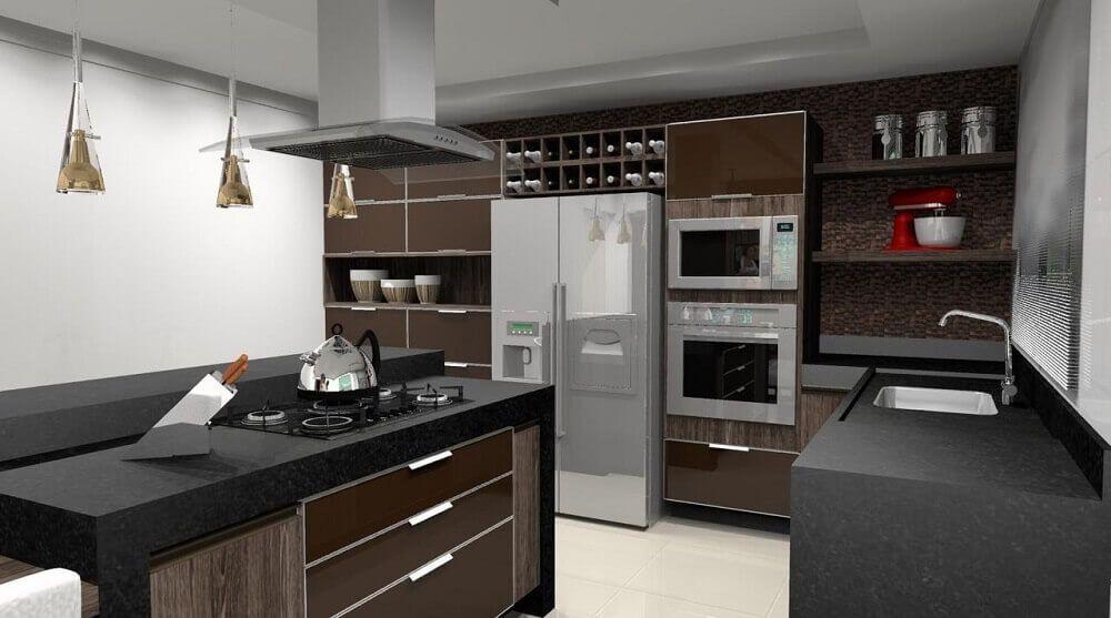 Nichos Para Cozinha 65 Modelos Para Organizar E Decorar A Sua