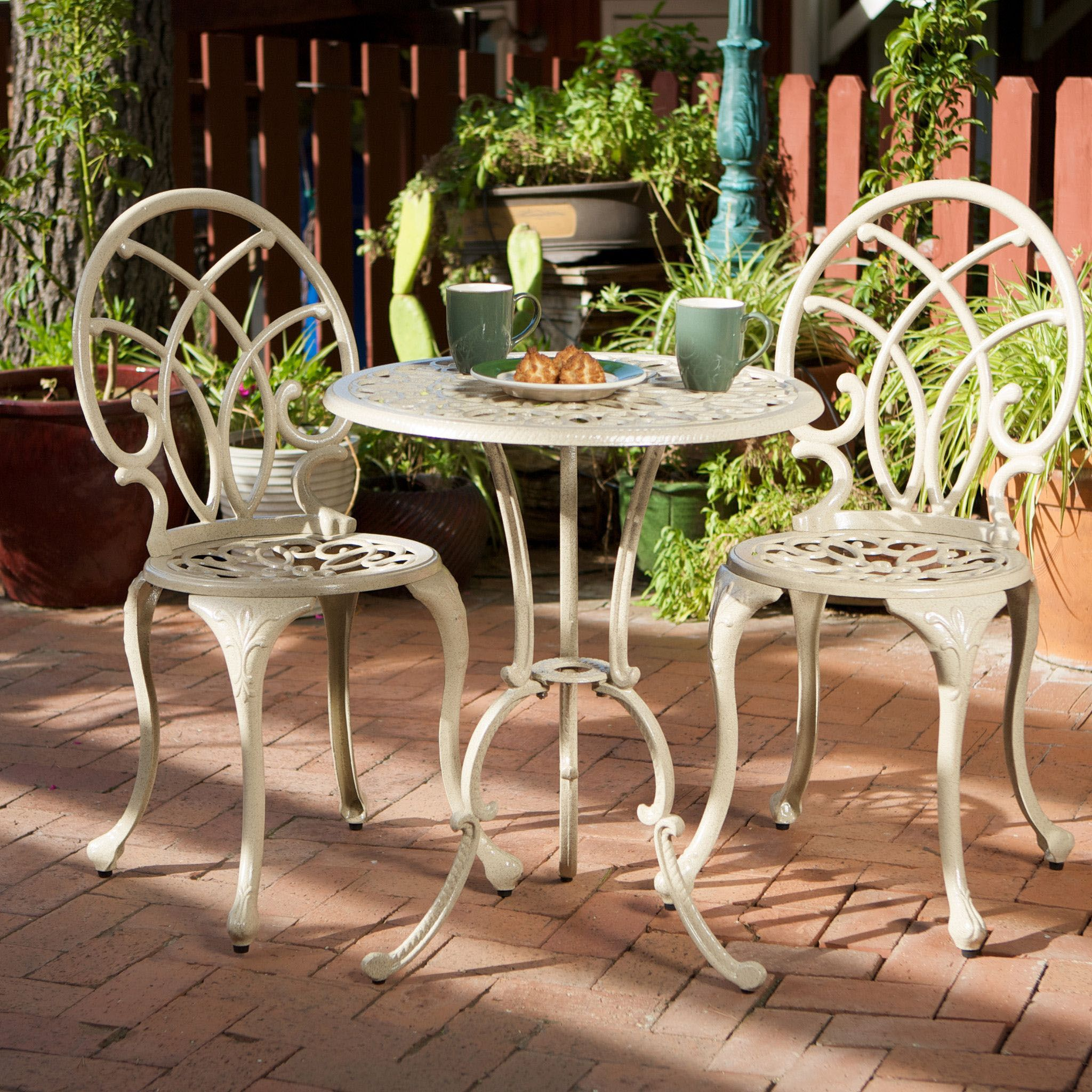 Outside Dining Spaces The Most Ideal Design Advice Bistro Set