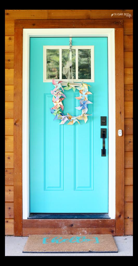 DIY Hello Door Mat & DIY Hello Door Mat | Door mats Doors and Bee crafts