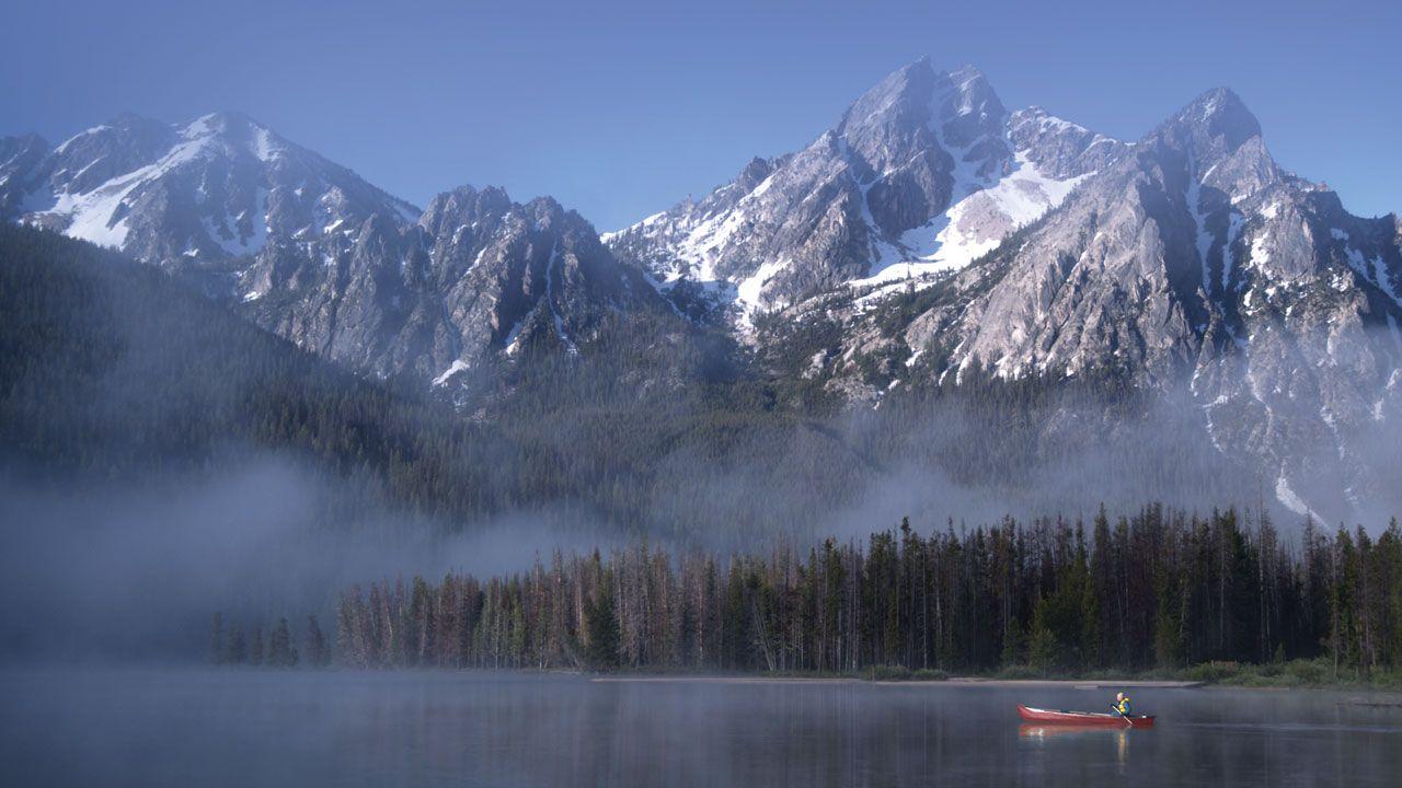 Stanley Lake, Idaho Scenic travel, Seasonal travel, Idaho