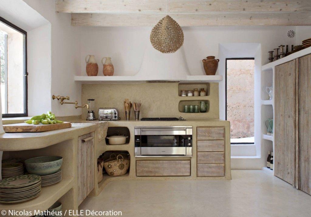 cuisine en b ton cir rock my casbah home inspiration. Black Bedroom Furniture Sets. Home Design Ideas