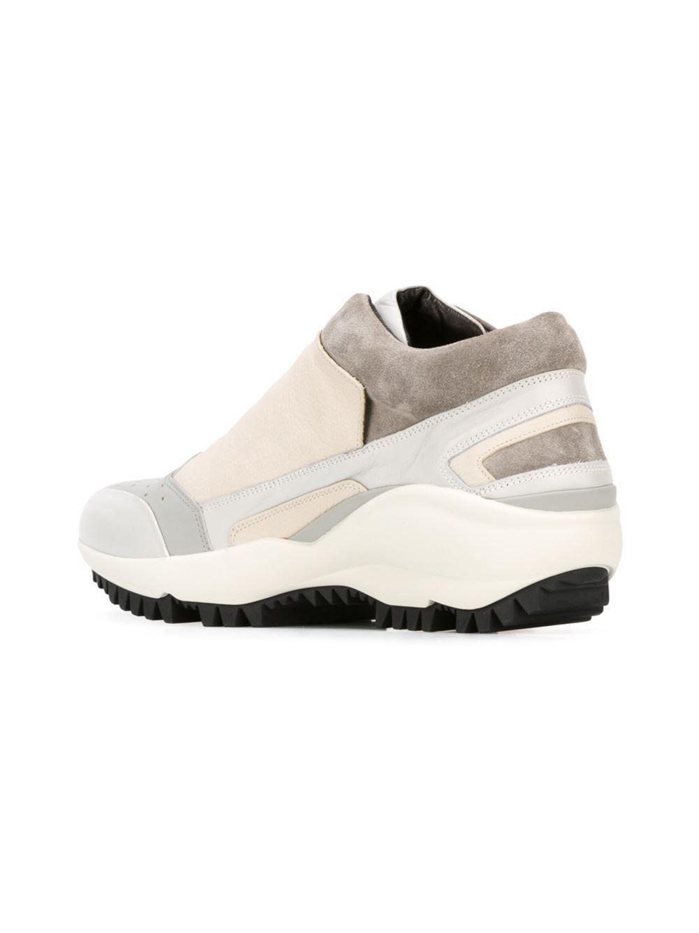 Lanvin side zip sneakers