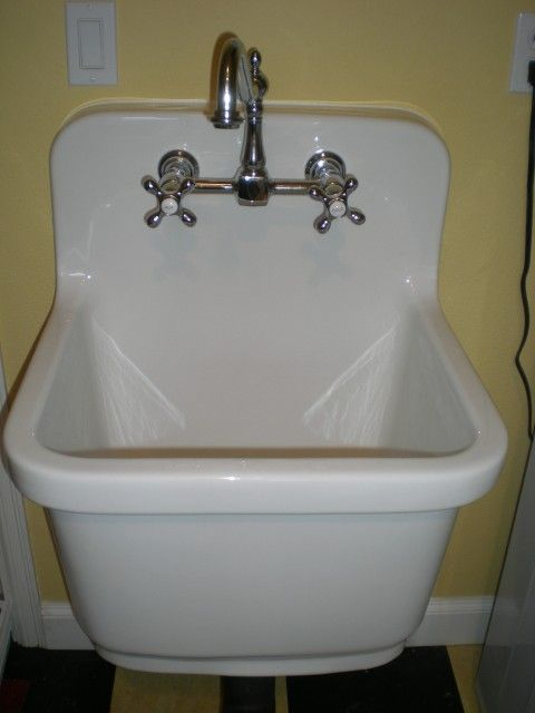 Kohler Sudbury Vintage Style Deep Sink Removed Plastic Deep Sink