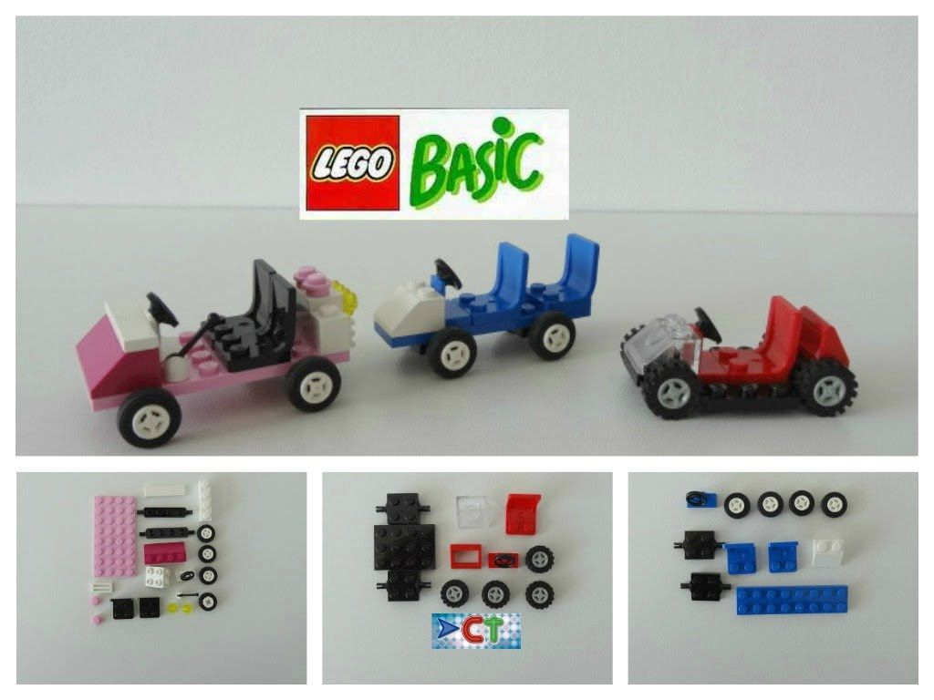 LEGO Easy Tutorial Cars How to Build DIY Lego Basic ...