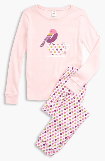 d82fbc432 Tucker + Tate Two Piece Fitted Pajamas (Little Girls   Big Girls ...