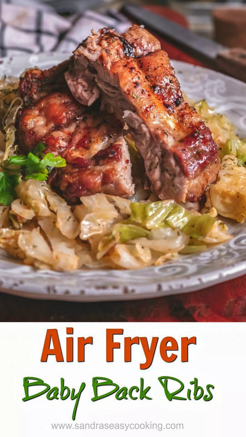 Air Fryer Baby Back Ribs Recipe Recipes, Air fryer