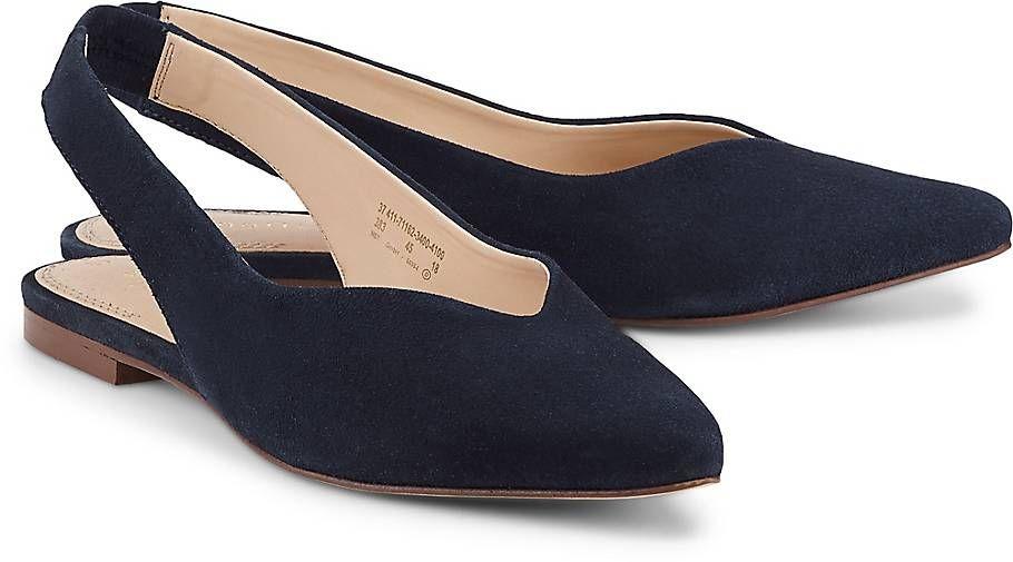 Bugatti Sommer Ballerina Ballerinas blau dunkel