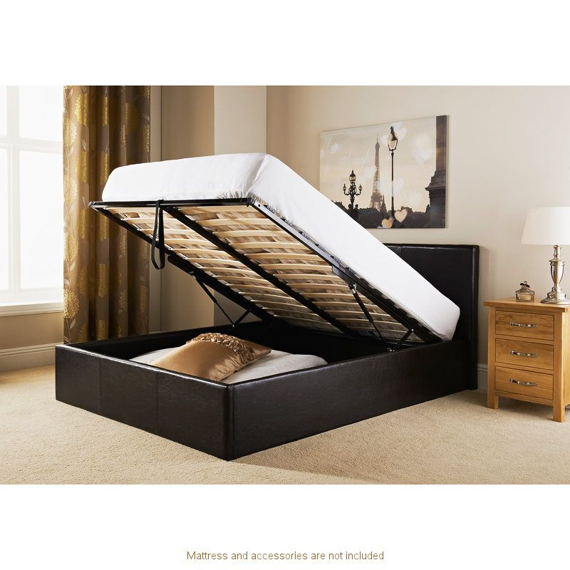 Milano Ottoman Double Bed