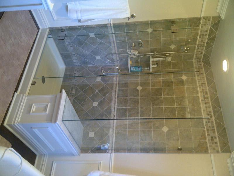 Stunning shower enclosure in a masterbathroom in for Bathroom vanities lakewood nj