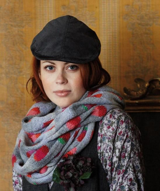 Loop Scarf R0041 - Free Knitted Pattern - (us.schachenmayr)