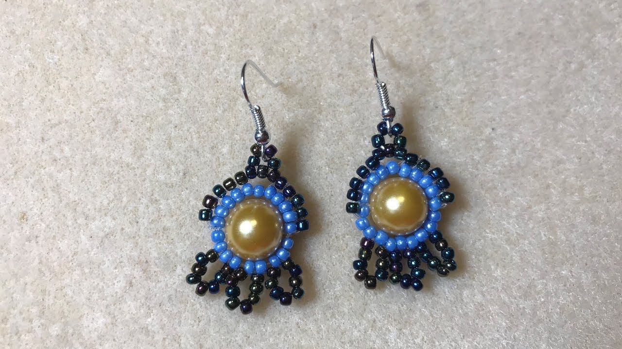 Beaded Earring Patterns For Beginners Cool Design