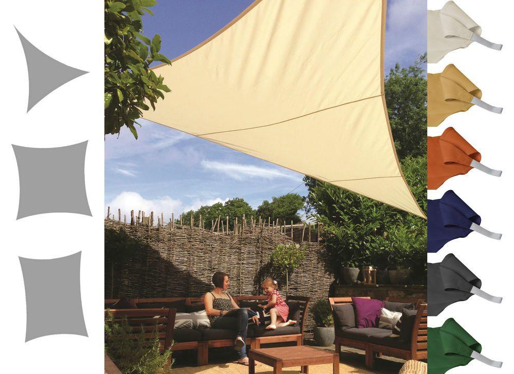 Kookaburra Shade Sail Water Resistant Sun Canopy Patio Awning Garden 96UV Block