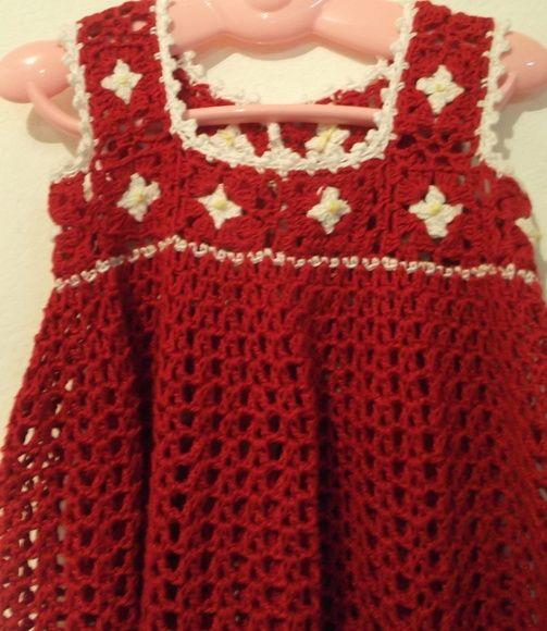 Vestido Infantil Para Meninas De Até 2 Anos Tecido Em