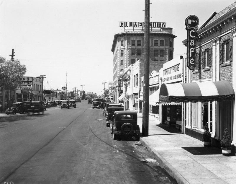 Vintage Photos From Culver City S Lively Prohibition Era Jazz Scene Culver City S Washington Blvd In 193 Culver City Culver City California West Los Angeles