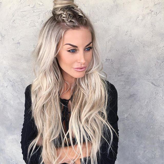 Habit Hottie Habit Hand Tied Extensions Lange Haare Frisur Ideen Frisuren Lang Lange Haare