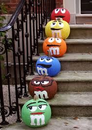 Image result for m&m pumpkin painting ideas #pumpkinpaintingideas