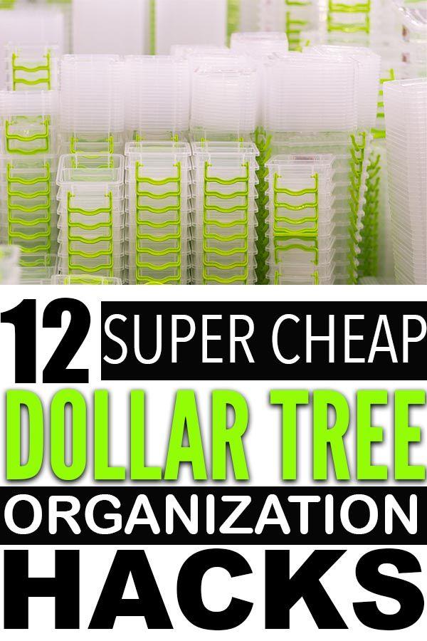 Genius Dollar Store Organization Hacks For Cheap Ways To