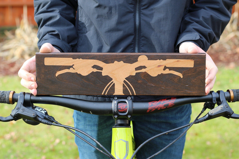 Mountain Bike Art Wall Art Mountain Bike Gift For Mountain Biker