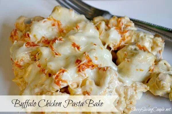 Http Foodies Ewave Tv Buffalo Chicken Pasta Bake Buffalo Chicken Pasta Recipes Chicken