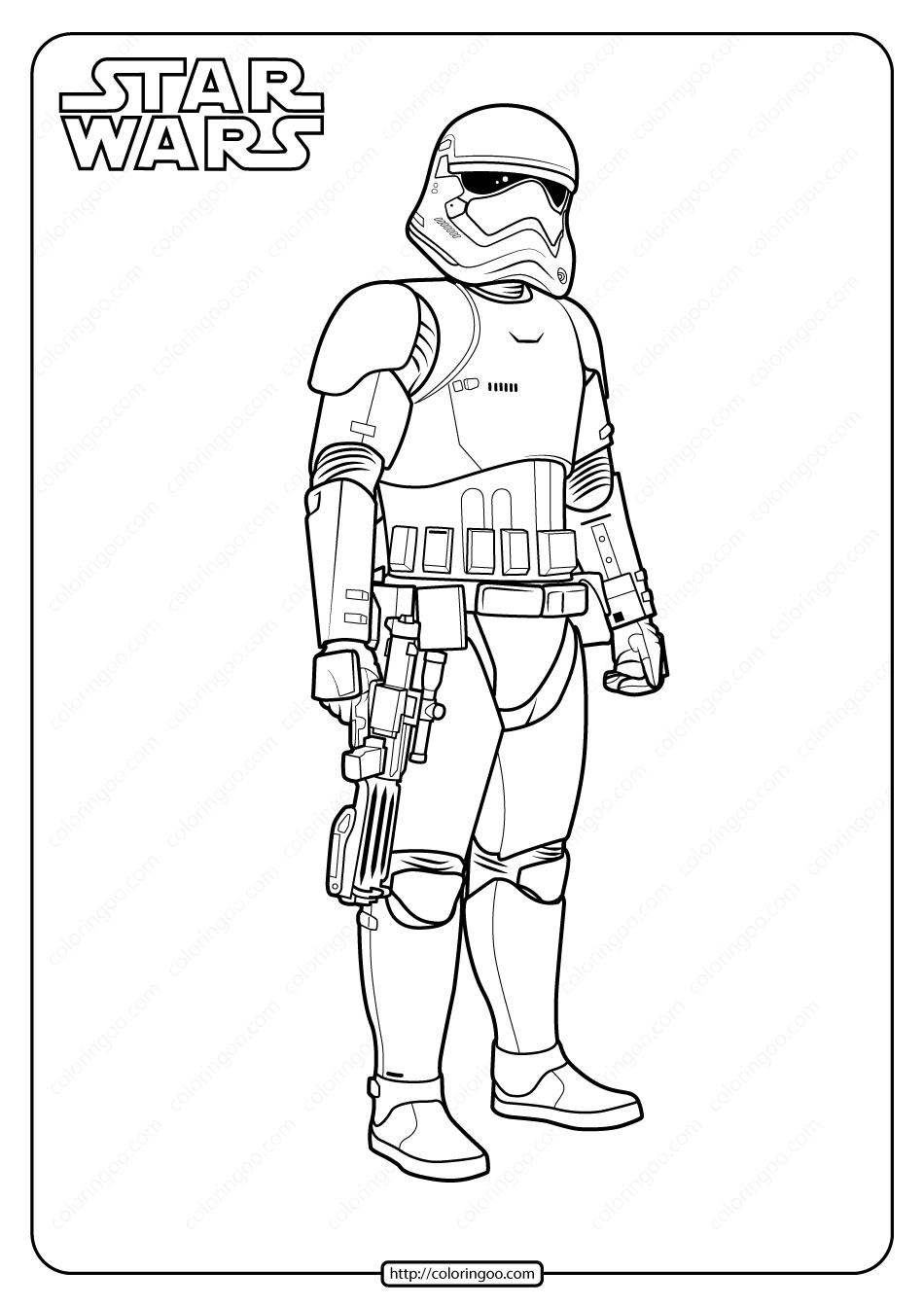 Printable Star Wars Stormtrooper Coloring Pages Star Wars Coloring Book Star Wars Coloring Sheet Star Coloring Pages
