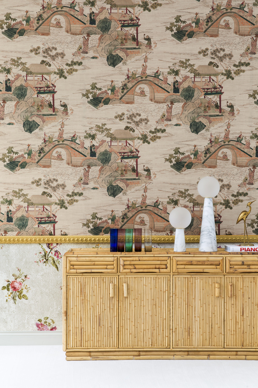 2019 Braquenie Wallpaper Collection Compagnie Des Indes When Past Meets Present Our Archives Redesigned A Compagnie Des Indes Pierre Frey Fleurs Anciennes