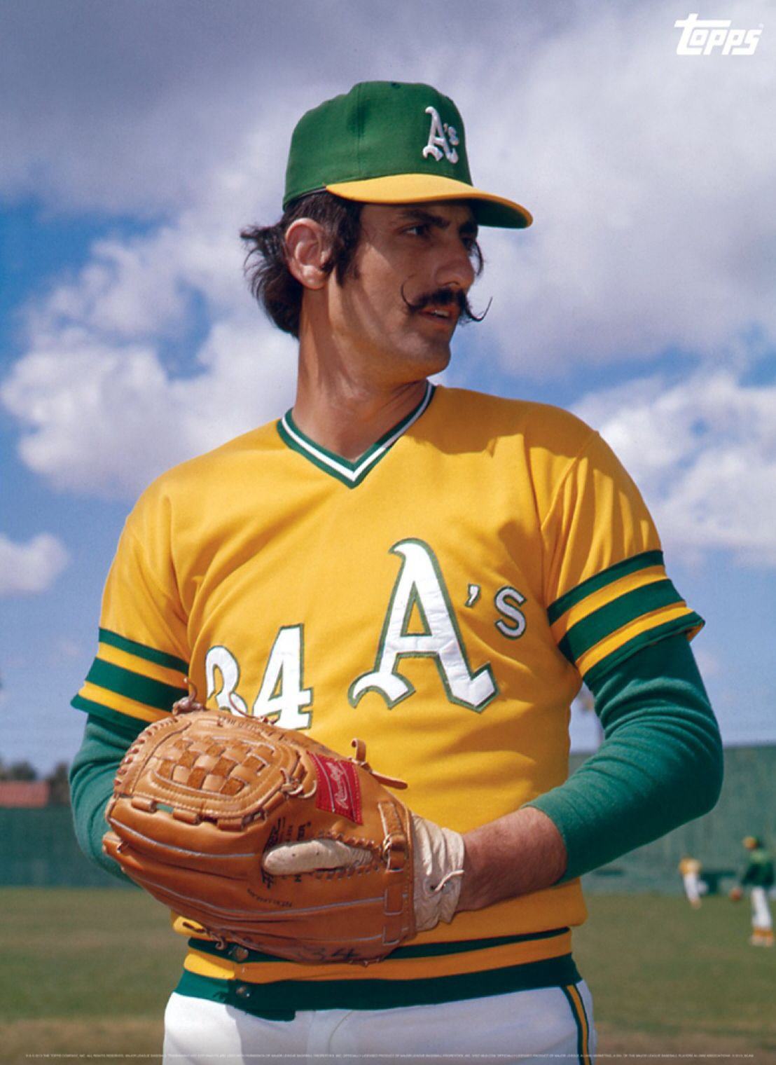 Rollie Fingers Still Baseball S Coolest Facial Hair With Images