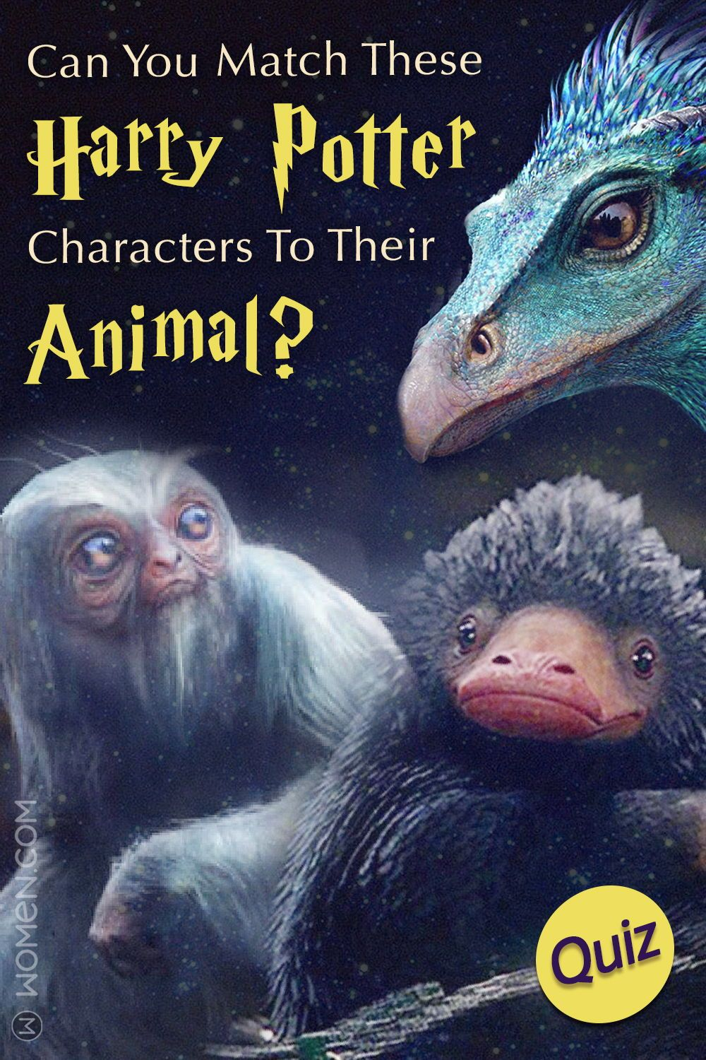 Hogwarts Quiz Can You Match These Harry Potter Characters To Their Animal Harry Potter Characters Harry Potter Harry Potter Quiz
