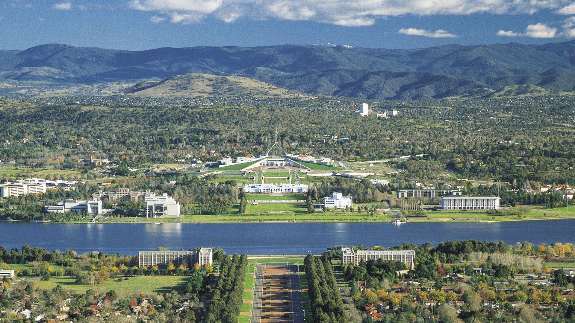 Canberra im Australien Reiseführer http://www.abenteurer.net/3392 ...