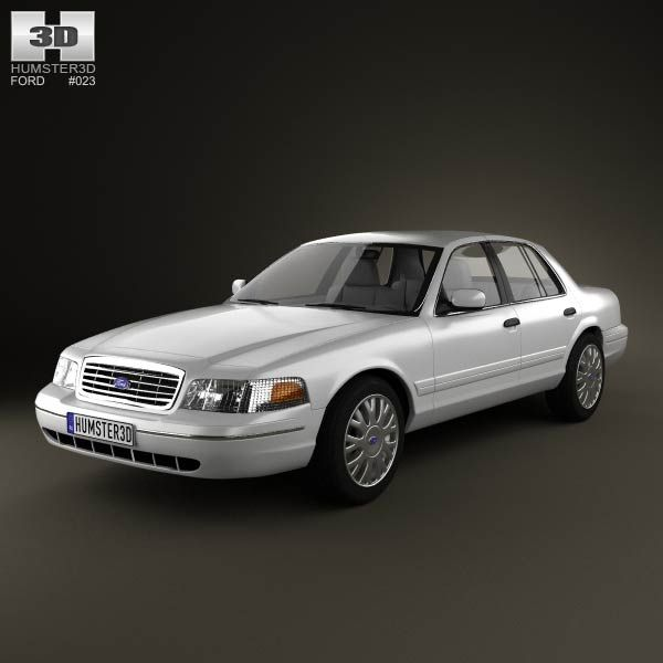 Ford Crown Victoria 2005 3d Model From Humster3d.com