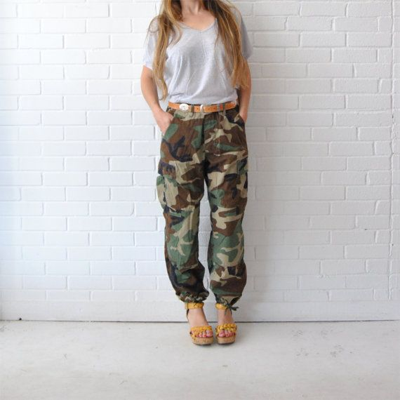 1000  images about Fashion: Army Fatigues on Pinterest