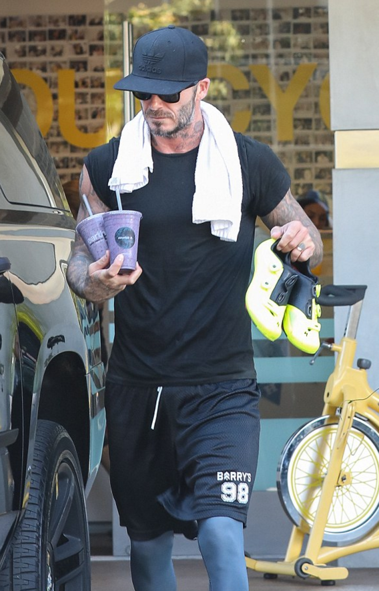 David Beckham Adidas Trefoil Chain Snapback Cap