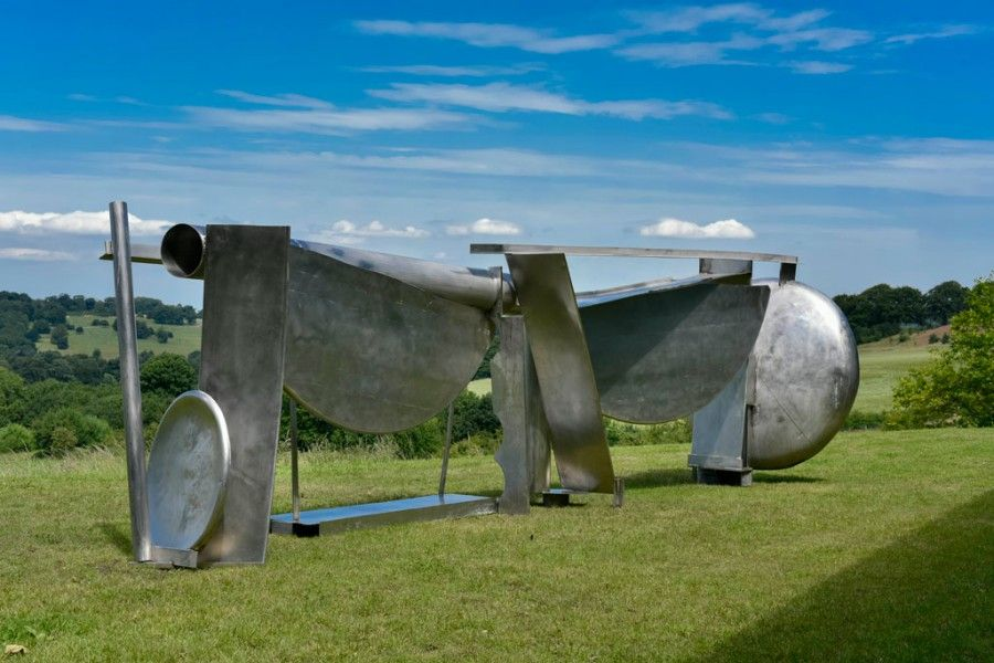 (1987-93), Anthony Caro. Installation view at the Yorkshire Sculpture Park.