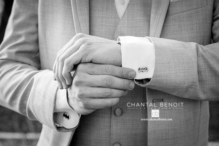 Harry Potter cufflinks for Ottawa groom